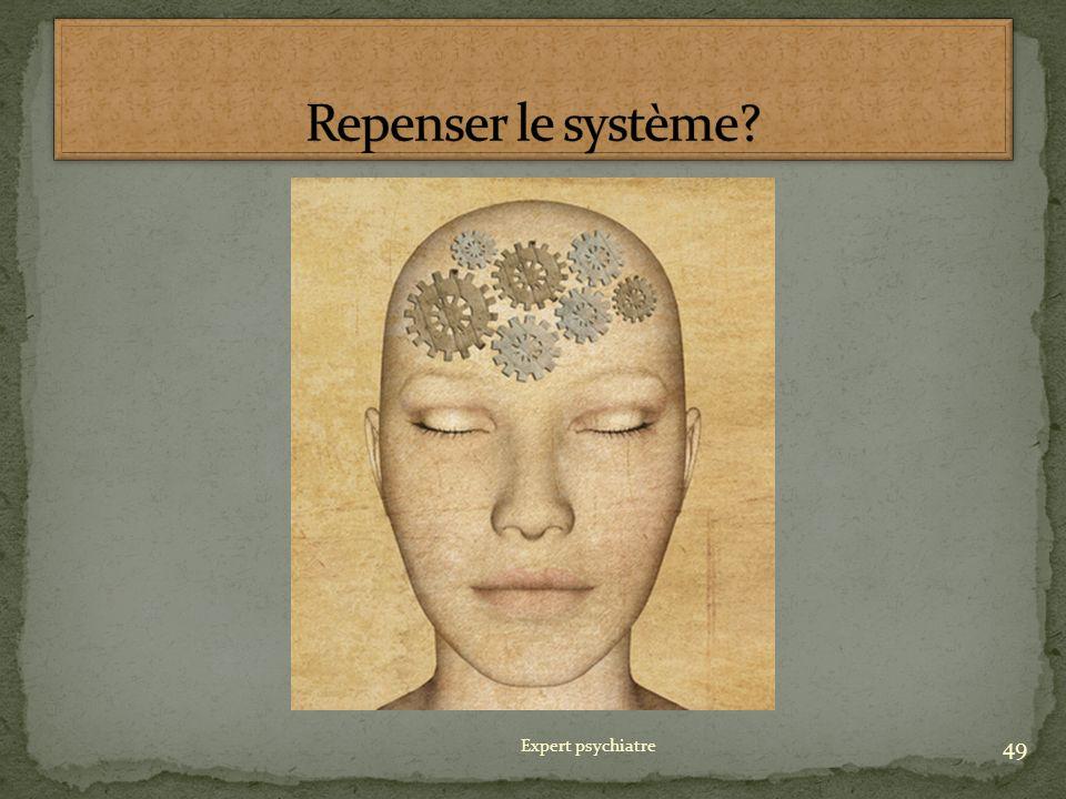 Repenser le système Expert psychiatre