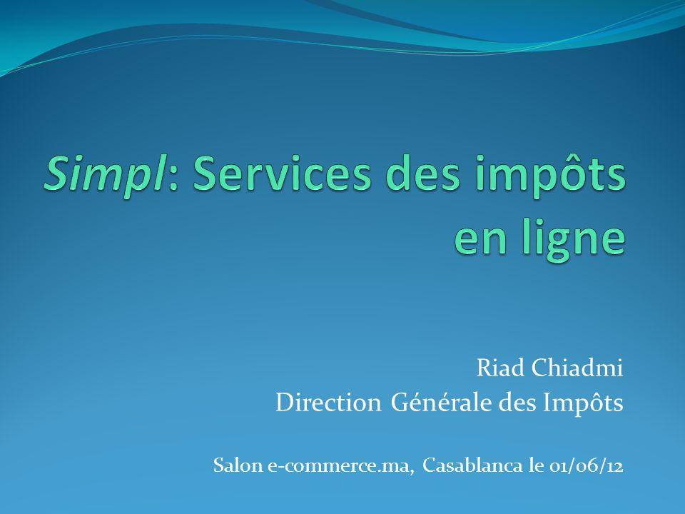 Simpl: Services des impôts en ligne