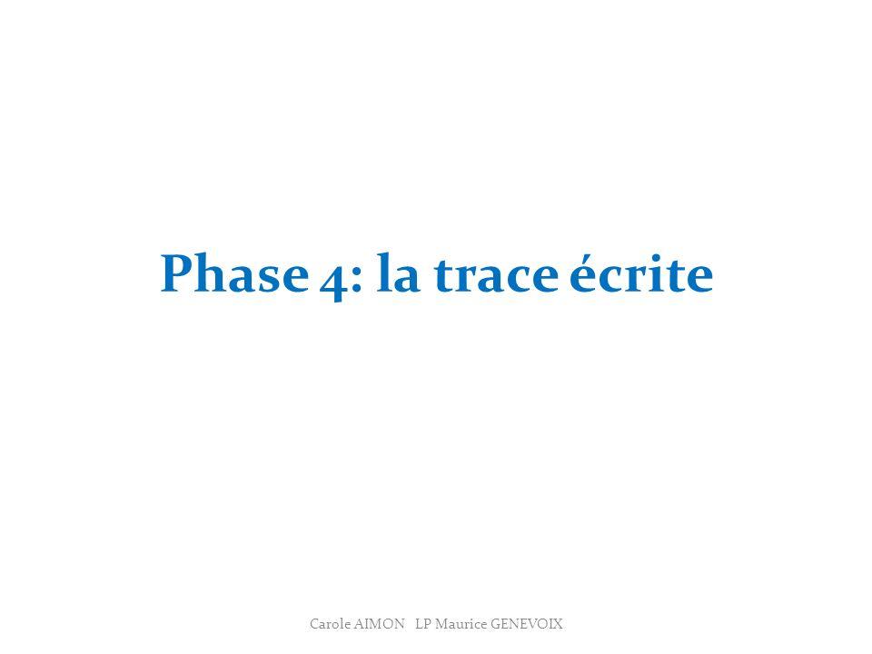 Carole AIMON LP Maurice GENEVOIX
