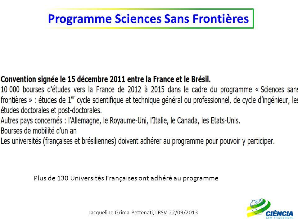 Plus de 130 Universités Françaises ont adhéré au programme