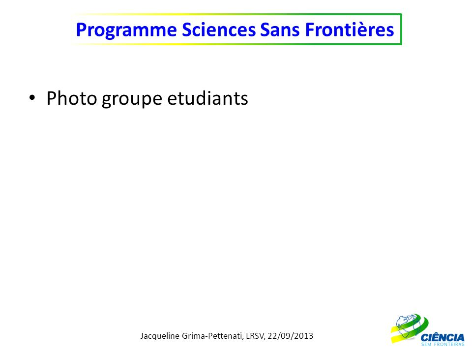 Photo groupe etudiants