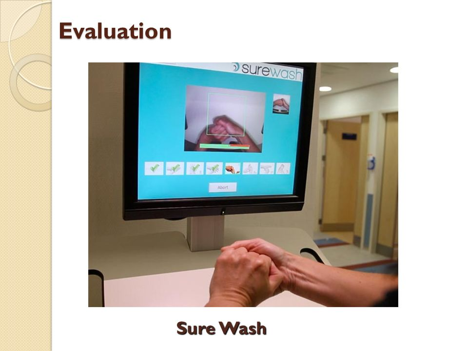 Evaluation Sure Wash