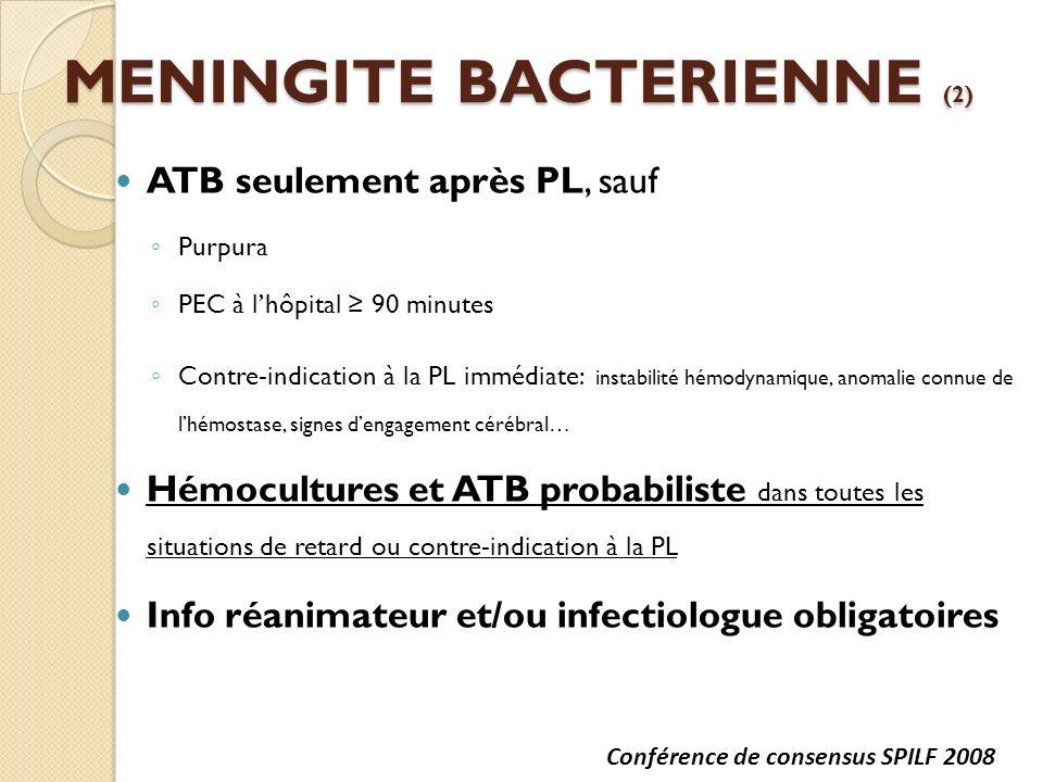 MENINGITE BACTERIENNE (2)