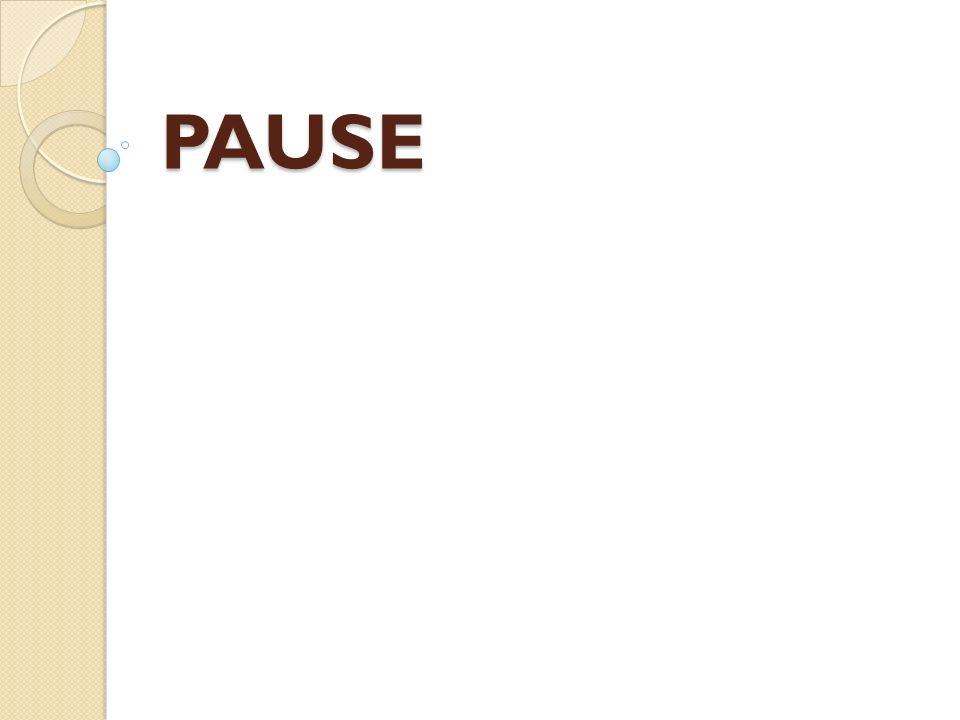 Merci, PAUSE
