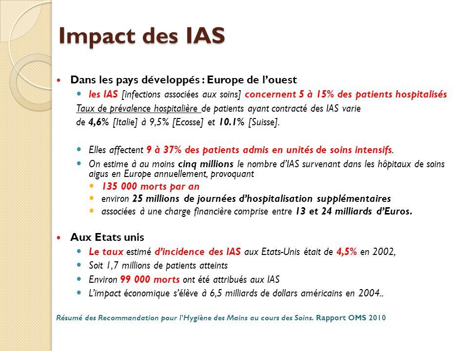 Impact des IAS Dans les pays développés : Europe de l'ouest