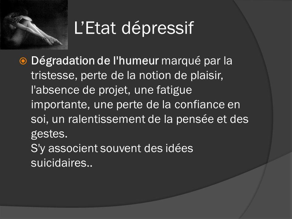 L'Etat dépressif