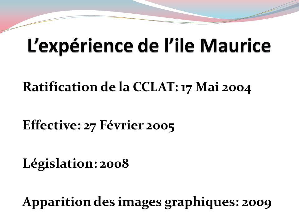 L'expérience de l'ile Maurice