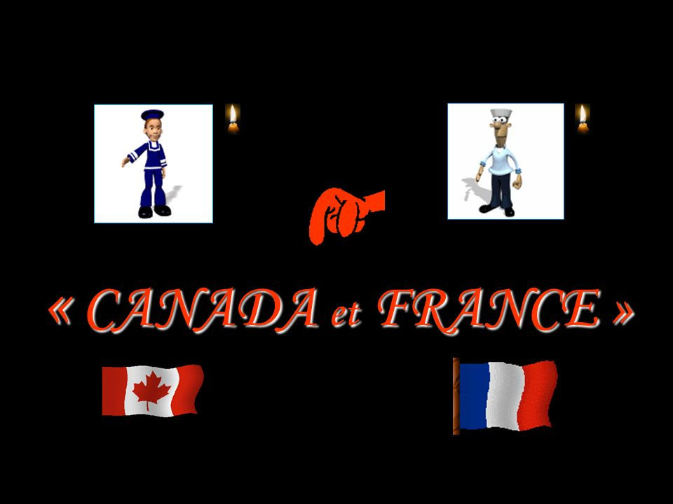« CANADA et FRANCE »