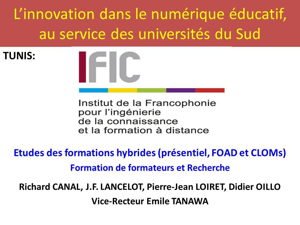L'innovation dans le numérique éducatif, au service des universités du Sud