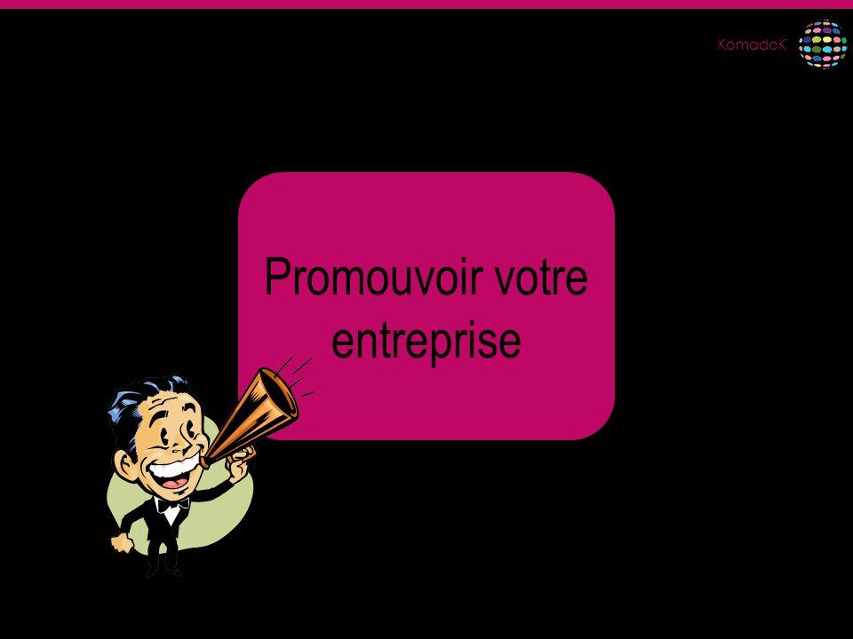 Promouvoir votre entreprise