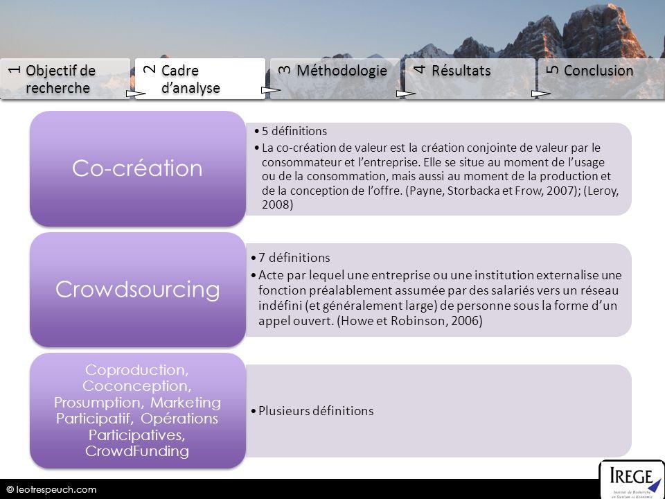 Co-création Crowdsourcing 5 définitions
