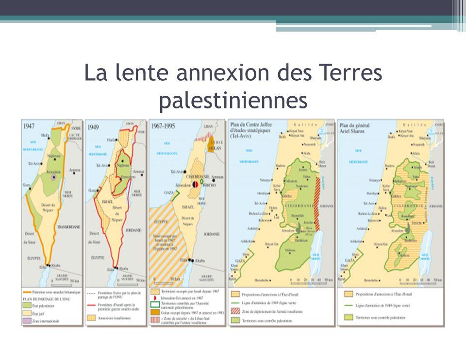 La lente annexion des Terres palestiniennes