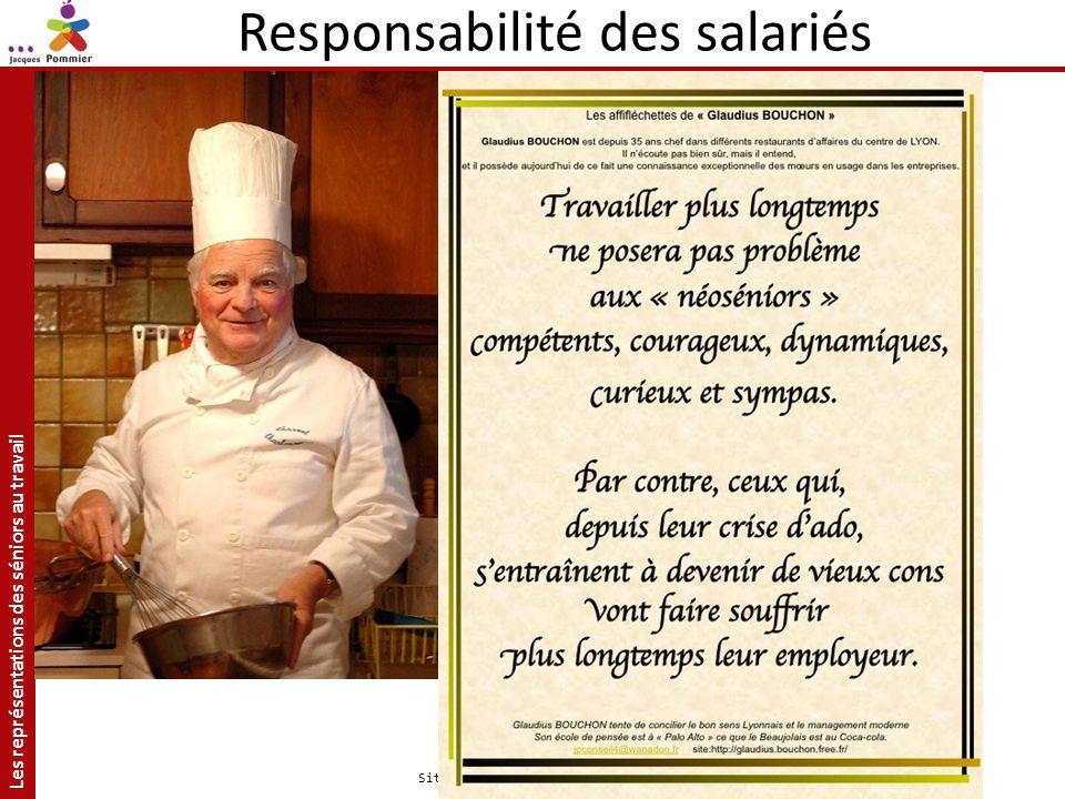 Responsabilité des salariés