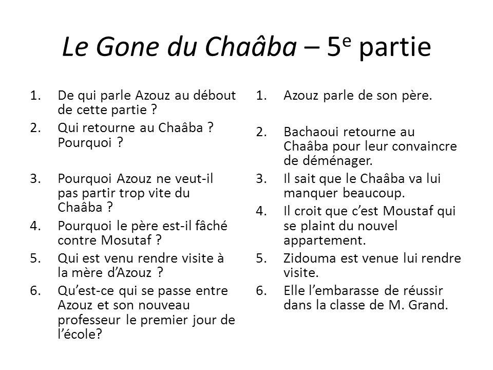 Le Gone du Chaâba – 5e partie