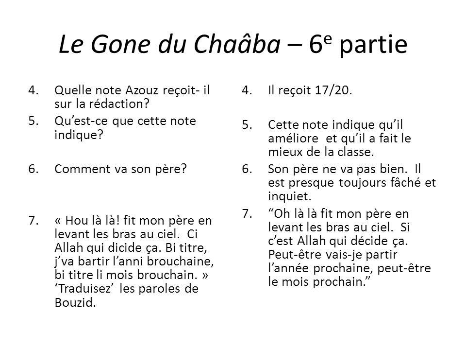 Le Gone du Chaâba – 6e partie