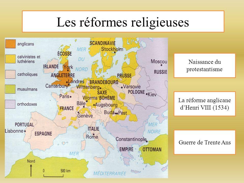 Les réformes religieuses