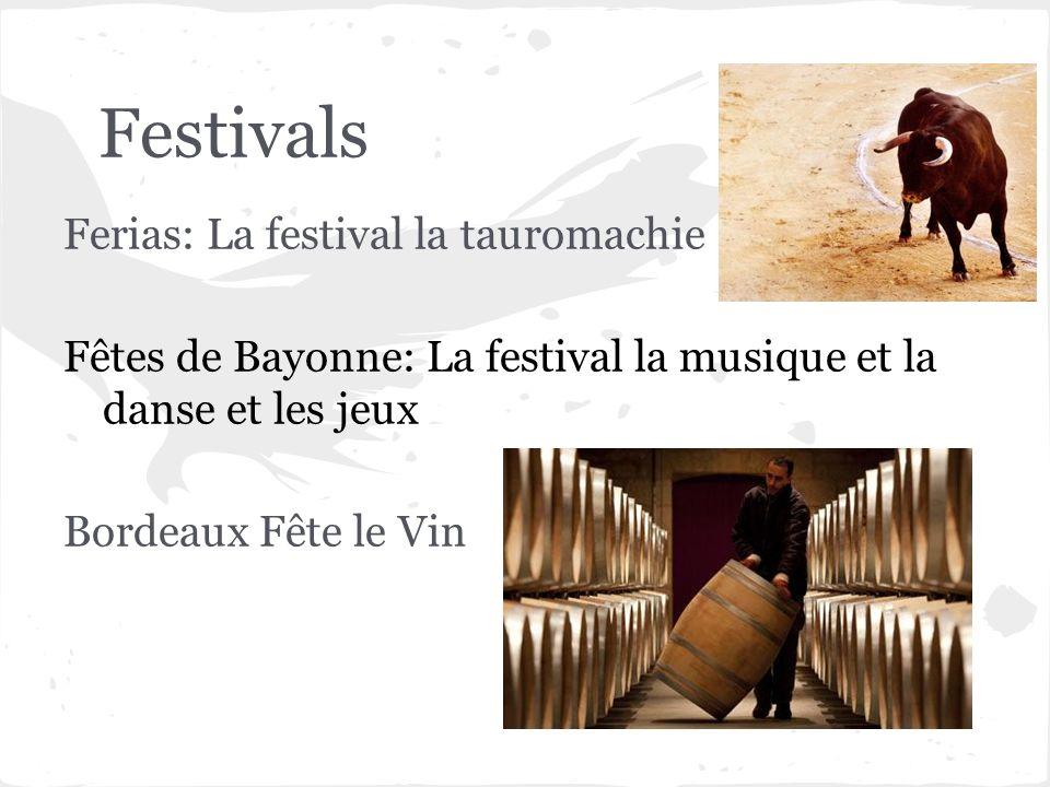 Festivals Ferias: La festival la tauromachie