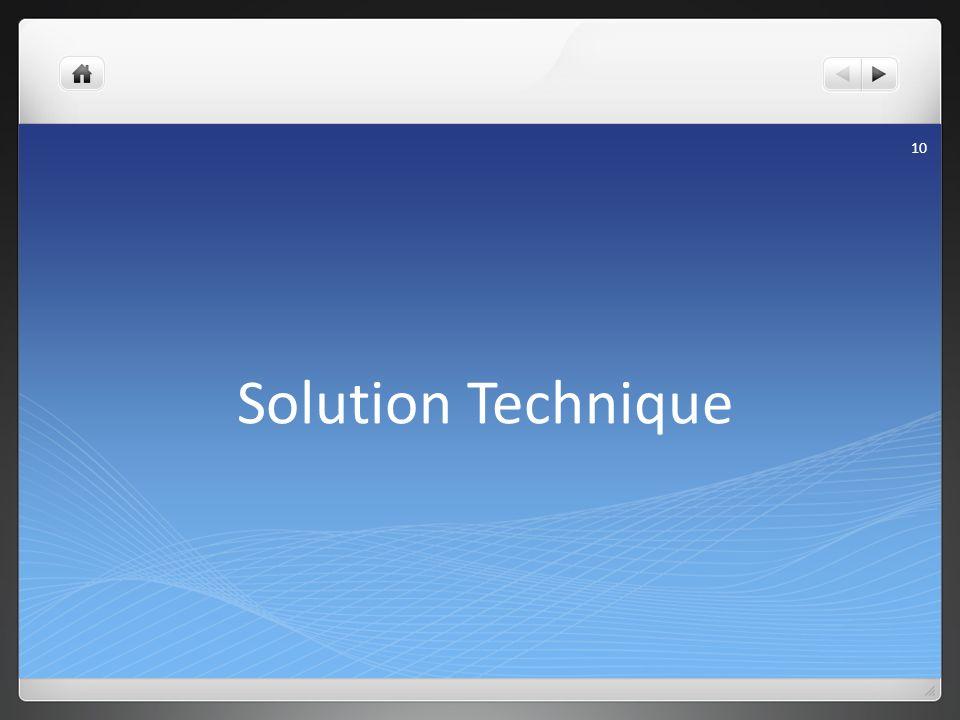 Solution Technique Pierre