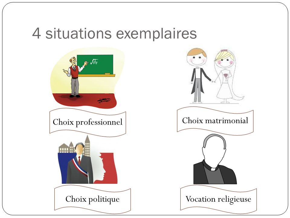 4 situations exemplaires