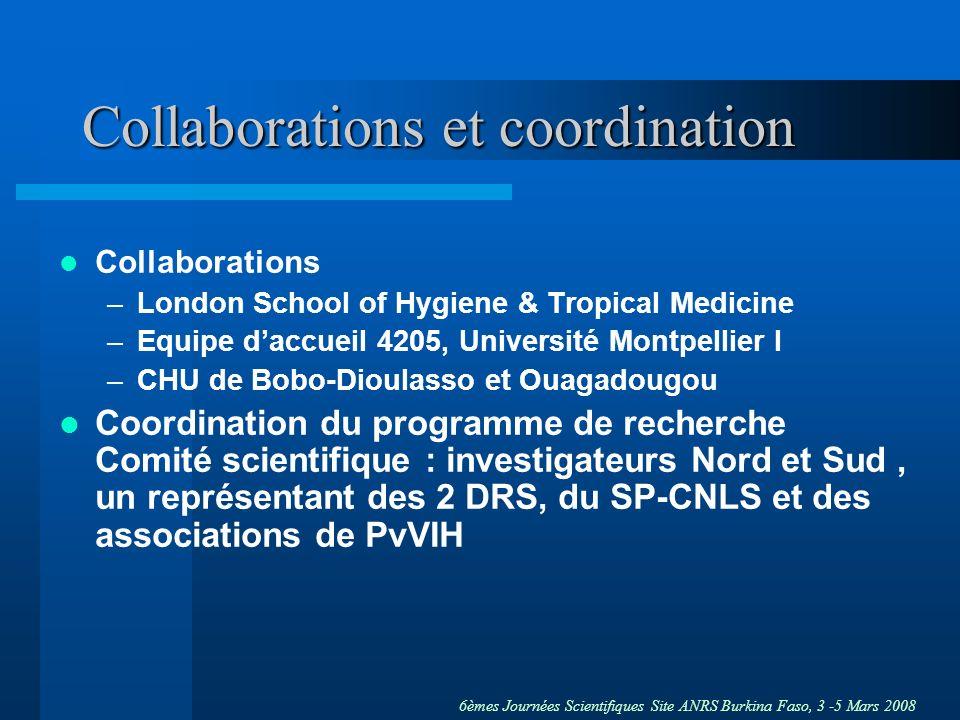 Collaborations et coordination