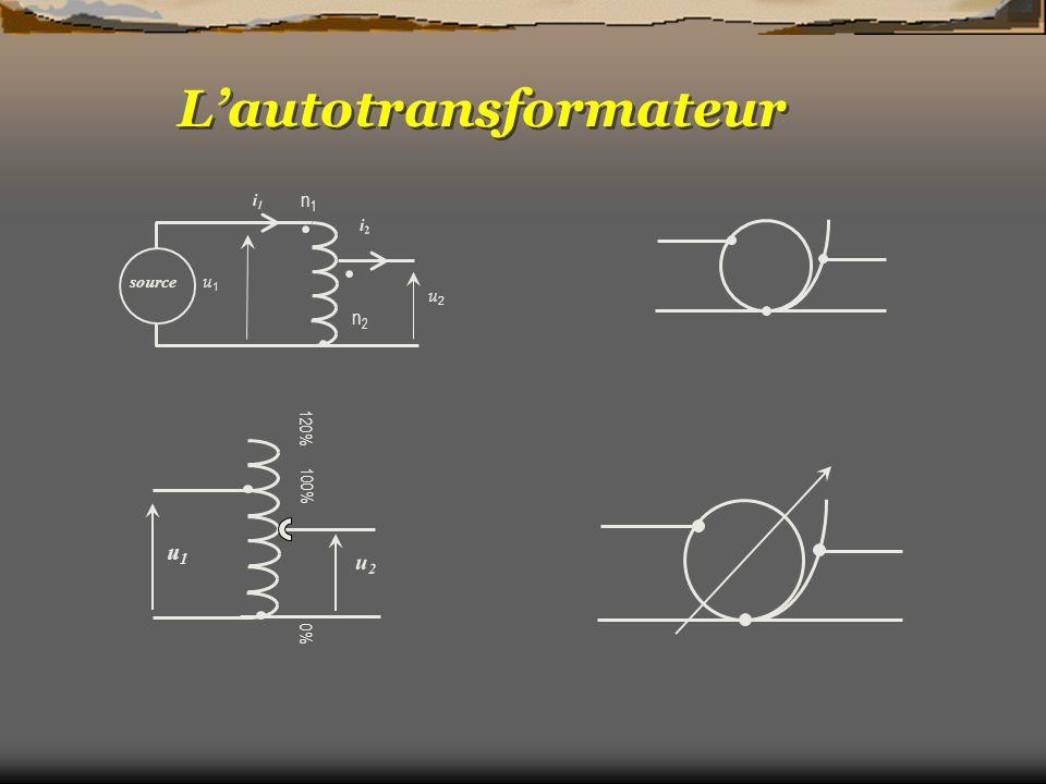 L'autotransformateur