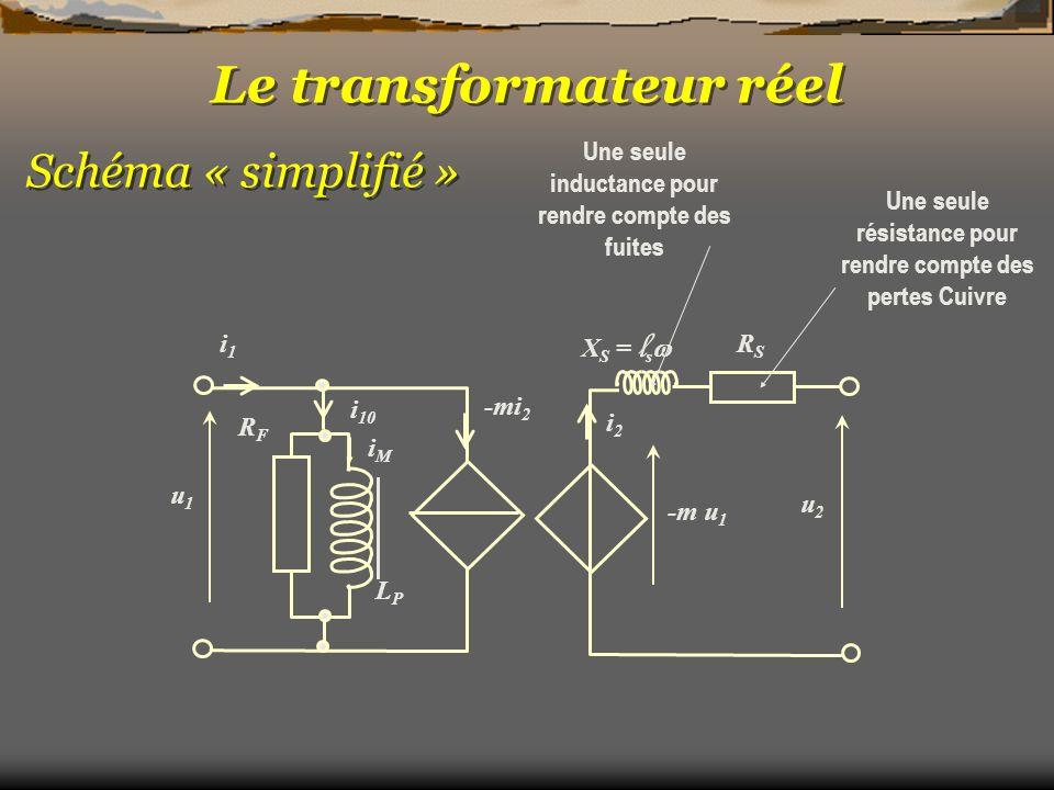 Le transformateur réel