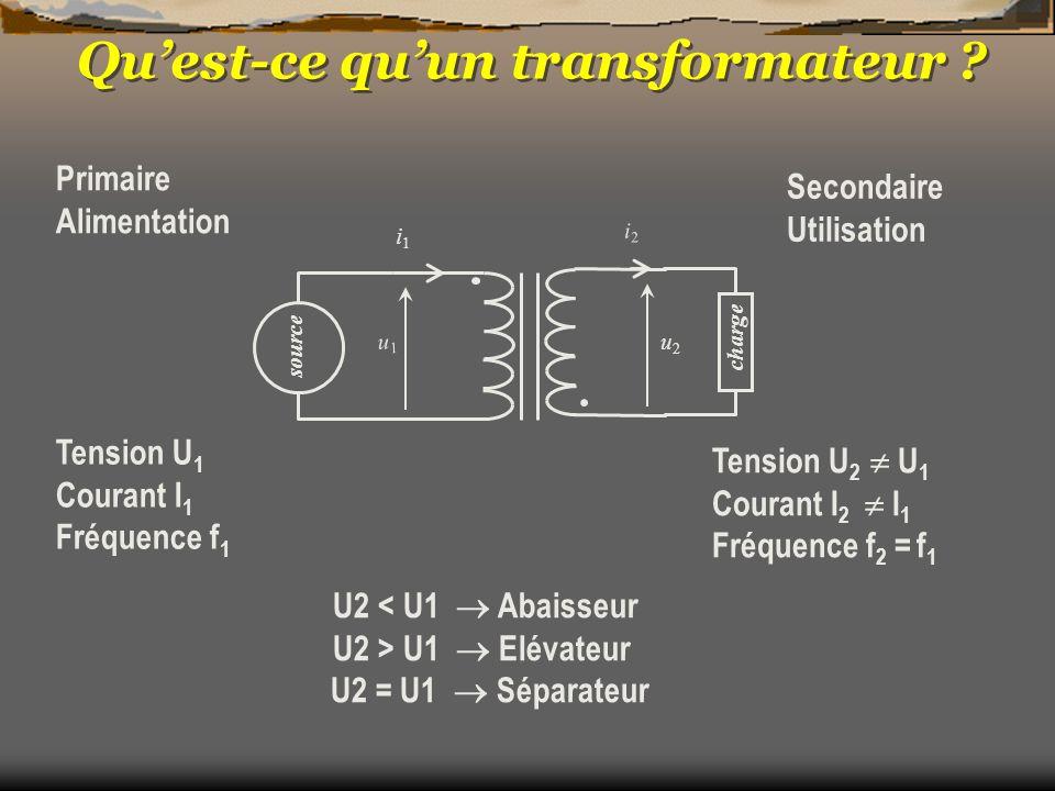 Qu'est-ce qu'un transformateur
