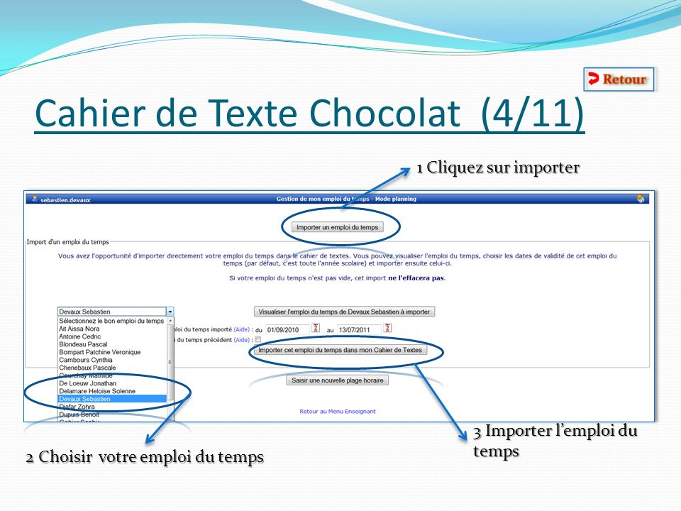 Cahier de Texte Chocolat (4/11)
