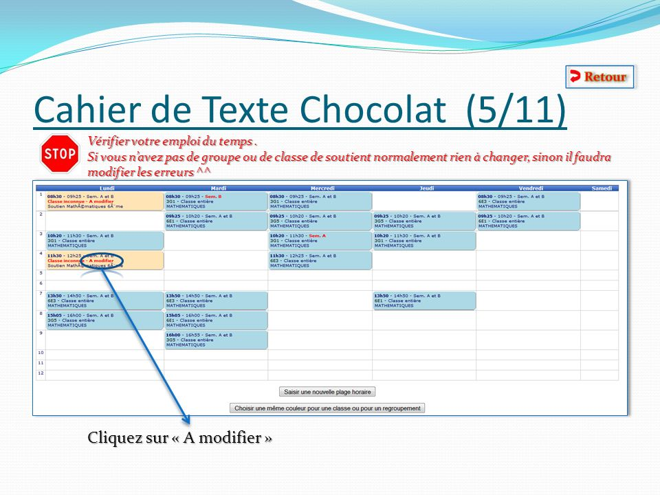 Cahier de Texte Chocolat (5/11)
