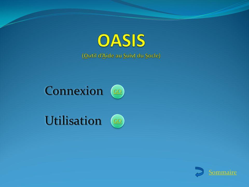 OASIS (Outil d'Aide au SuivI du Socle)