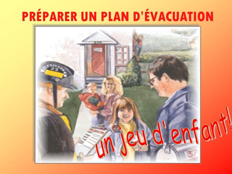PRÉPARER UN PLAN D'ÉVACUATION