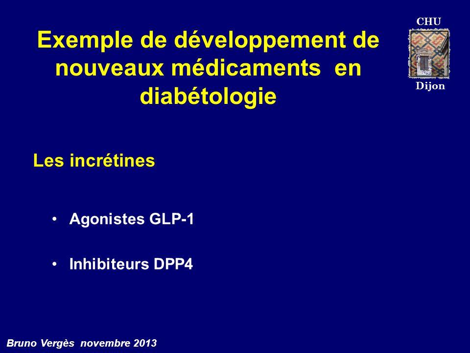 Exemple de développement de nouveaux médicaments en diabétologie