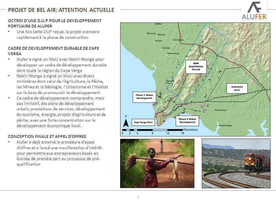 PROJET DE BEL AIR: ATTENTION ACTUELLE