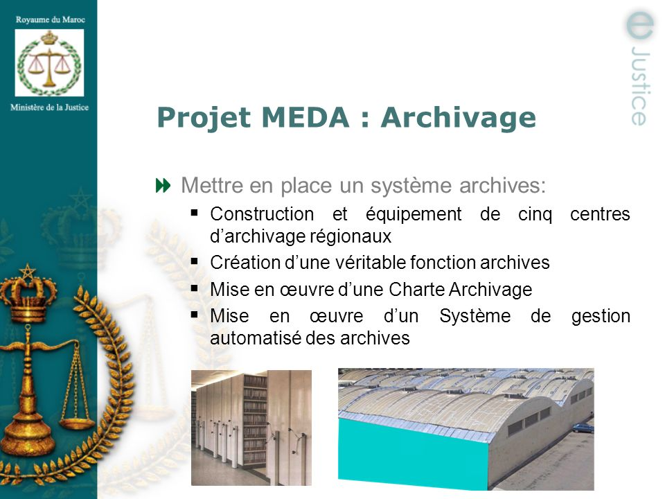 Projet MEDA : Archivage