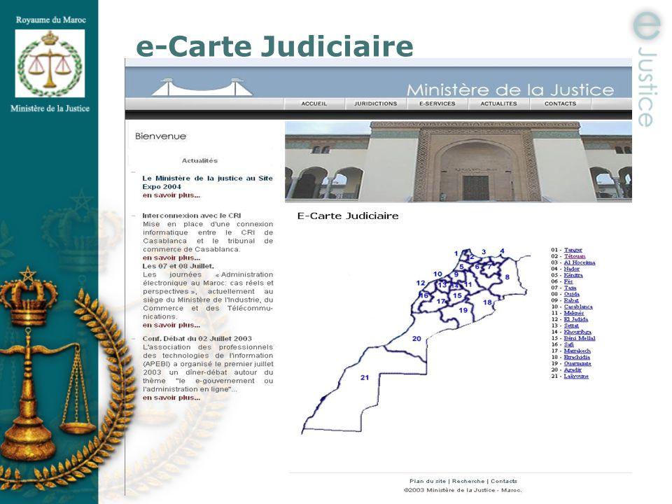 e-Carte Judiciaire