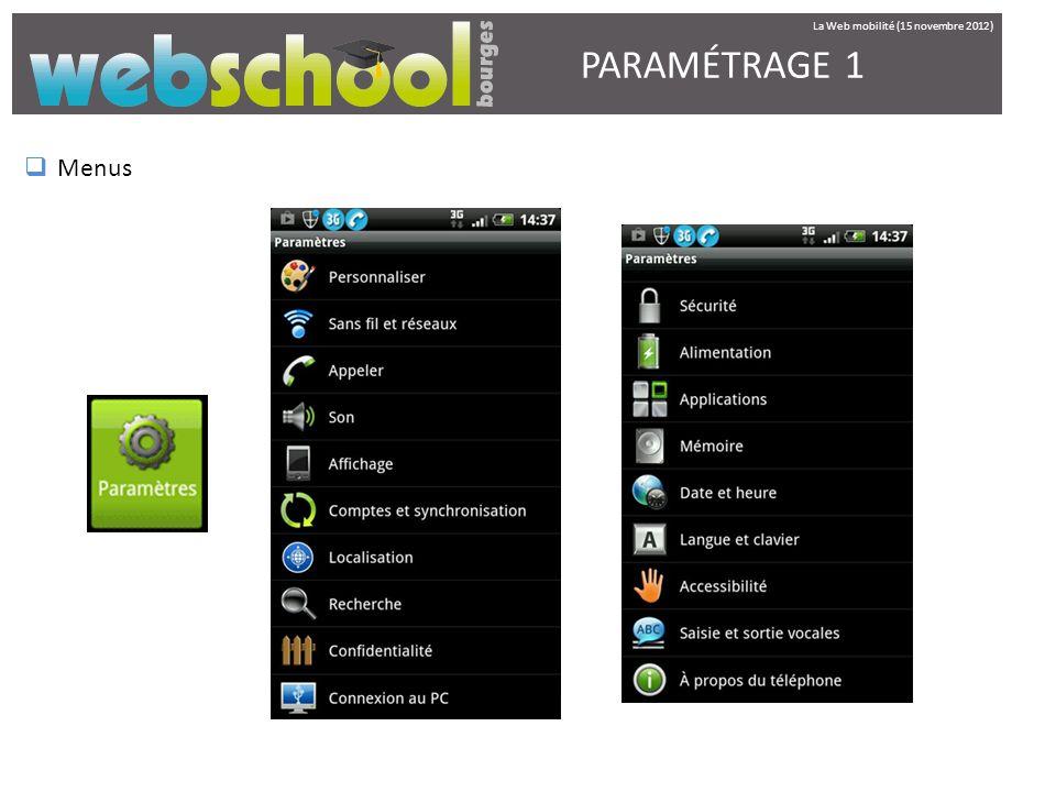 La Web mobilité (15 novembre 2012)