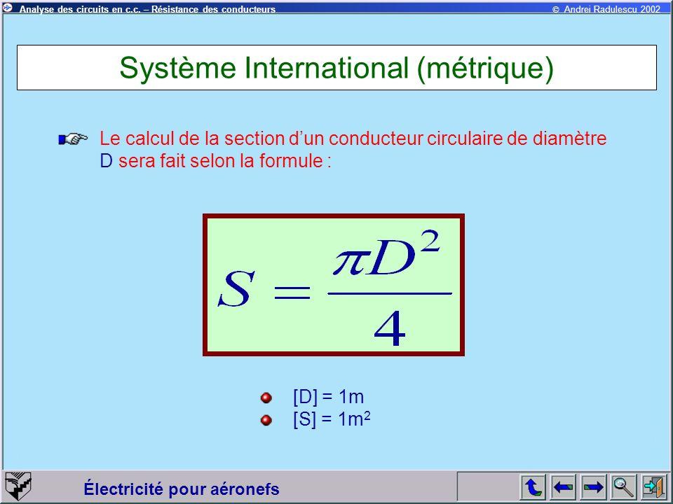 Système International (métrique)
