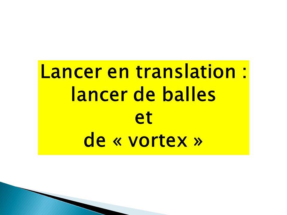 Lancer en translation :
