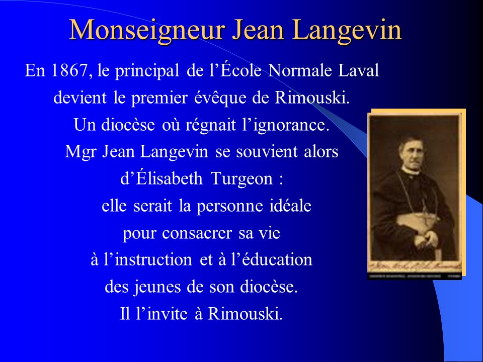 Monseigneur Jean Langevin