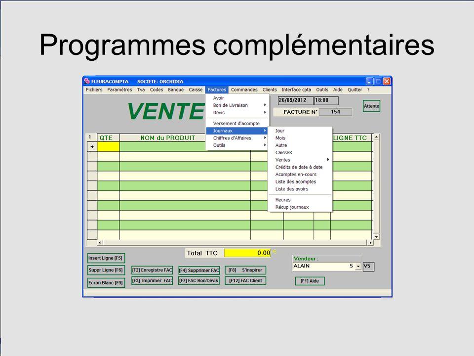 Programmes complémentaires