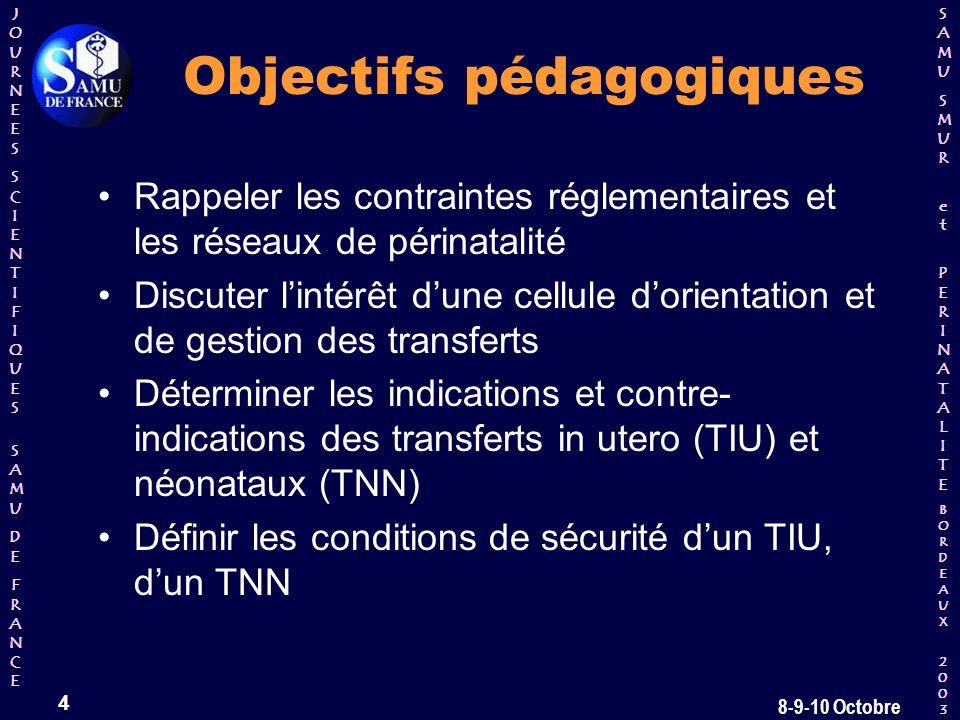 Objectifs pédagogiques