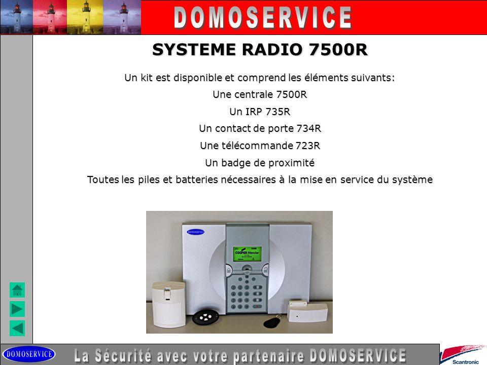 DOMOSERVICE SYSTEME RADIO 7500R