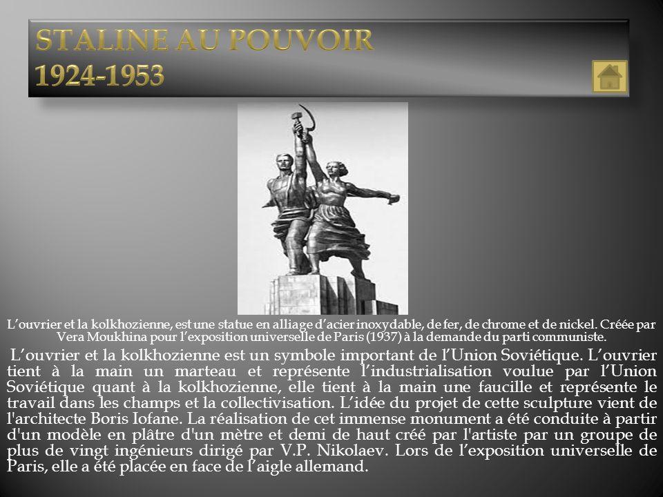 StaliNE AU POUVOIR 1924-1953.