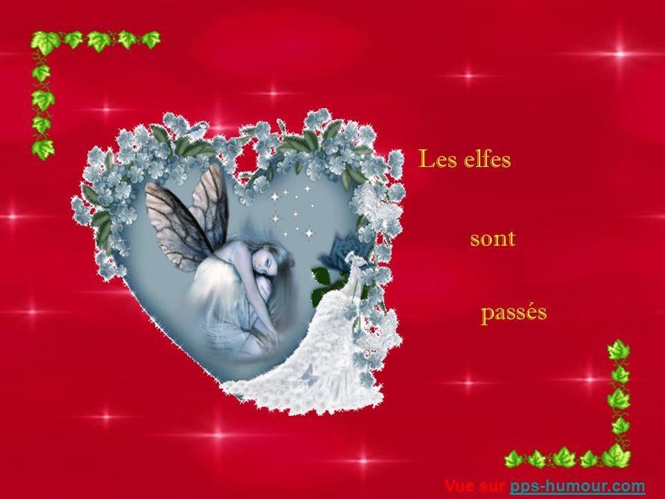 Les elfes sont passés Vue sur pps-humour.com