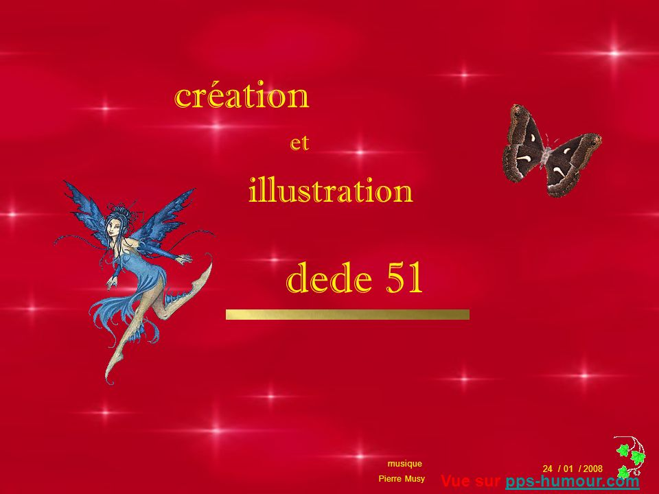 dede 51 création illustration et Vue sur pps-humour.com musique