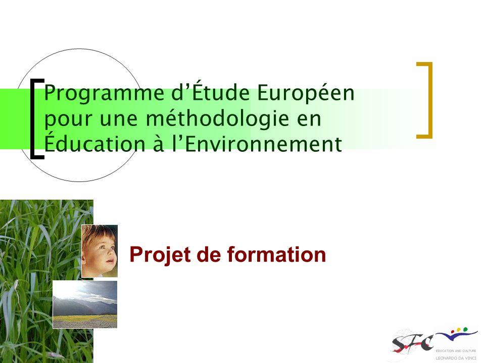 Programme d'Étude Européen pour une méthodologie en Éducation à l'Environnement