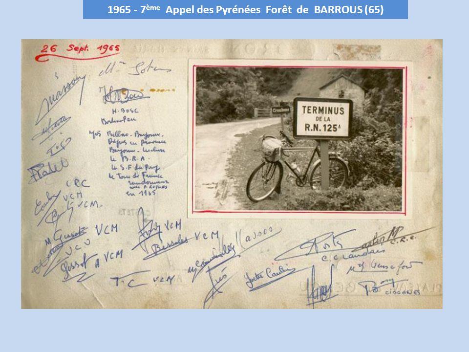 1965 - 7ème Appel des Pyrénées Forêt de BARROUS (65)
