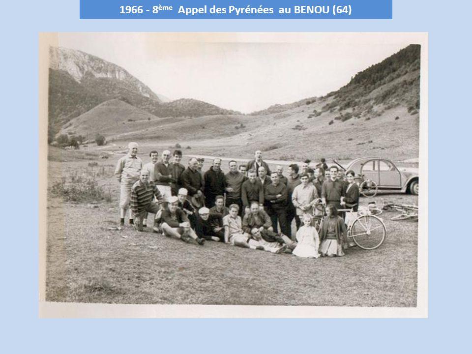 1966 - 8ème Appel des Pyrénées au BENOU (64)