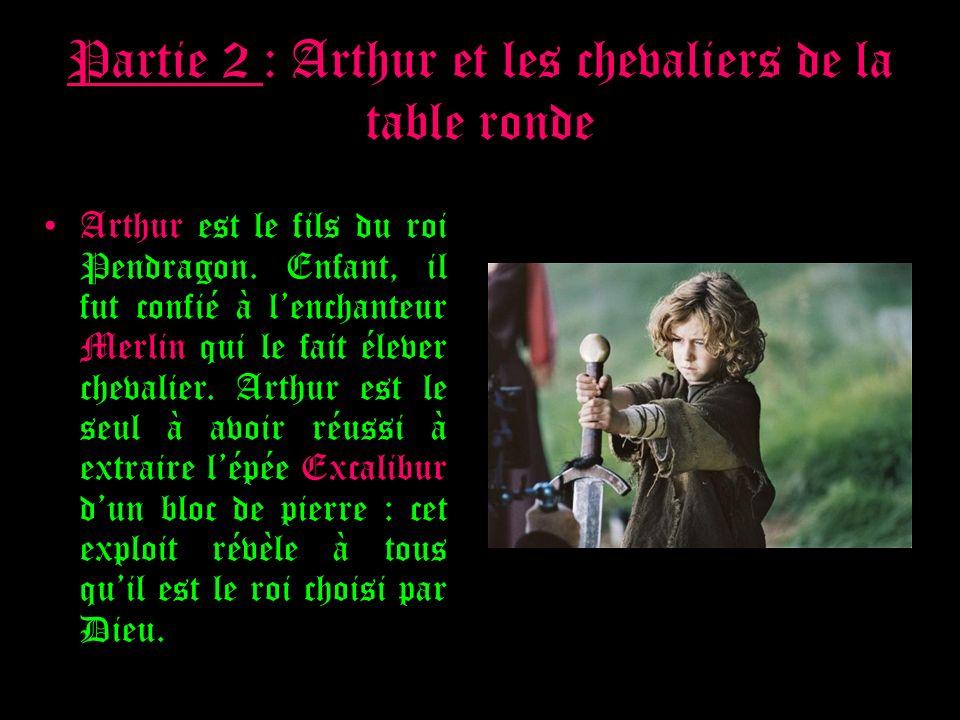 S ance 1 la d couverte de la litt rature au moyen ge - Le roi arthur et les chevaliers de la table ronde ...
