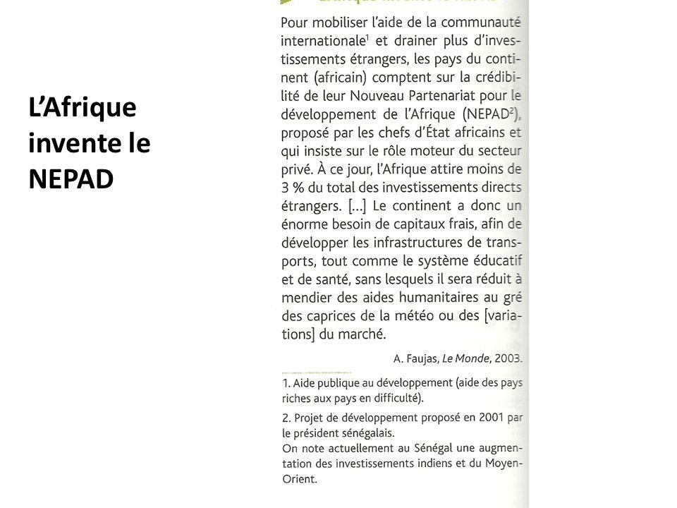 L'Afrique invente le NEPAD